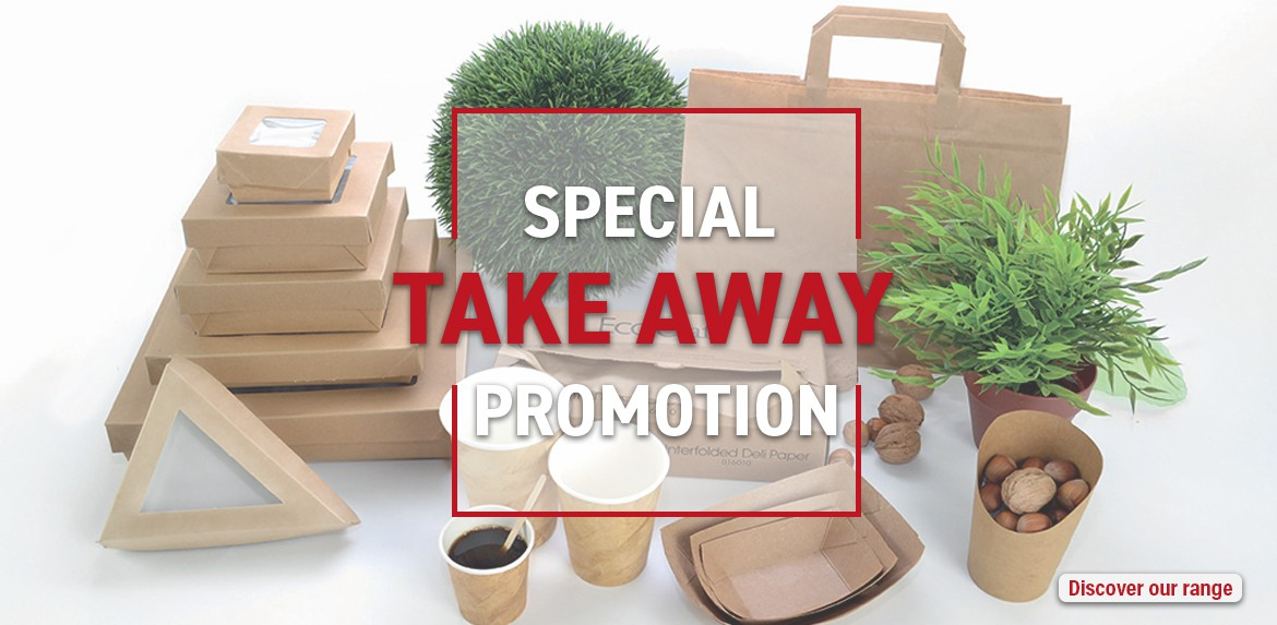 Special take-away promotion